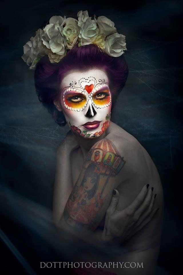 Halloween Dia De Los Muertos Day Of The Dead Sugar