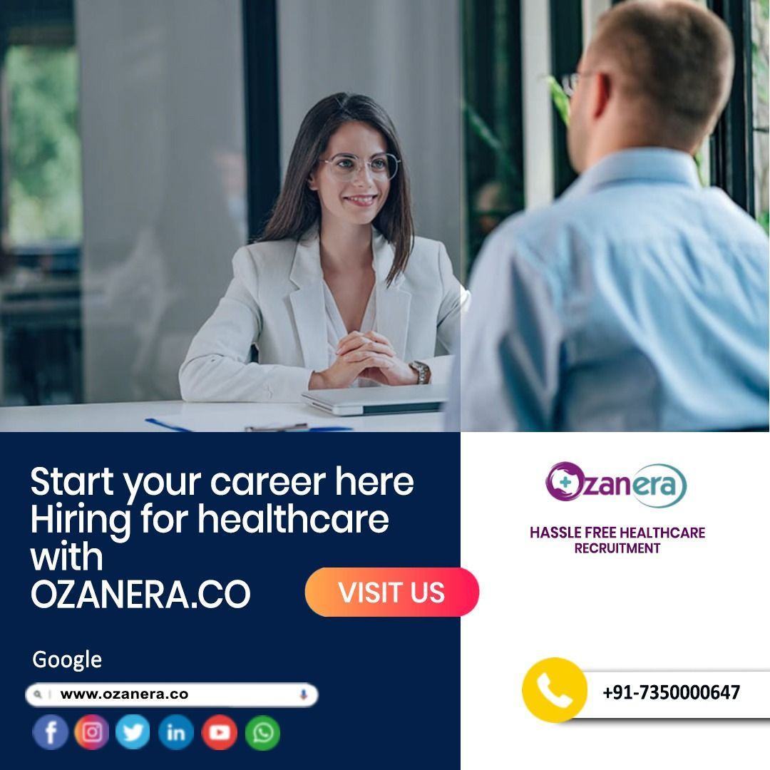 Ozanera Get All Types Of Hospital Employees Get Best Candidates For Hospital Healthcare Career Healthcare Careers Healthcare Jobs Healthcare Recruiting