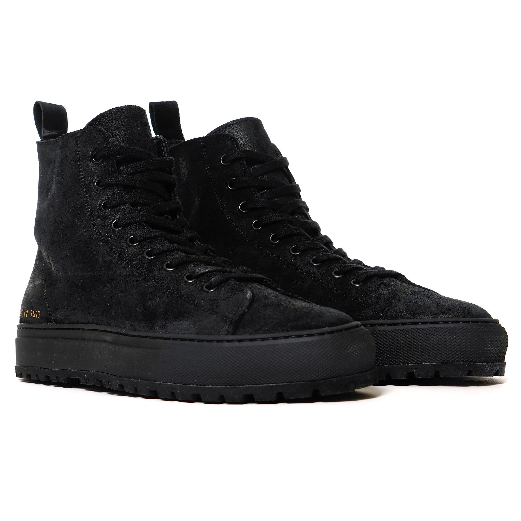 936fd7813750 Common Projects Tournament High Lug in Waxed Suede