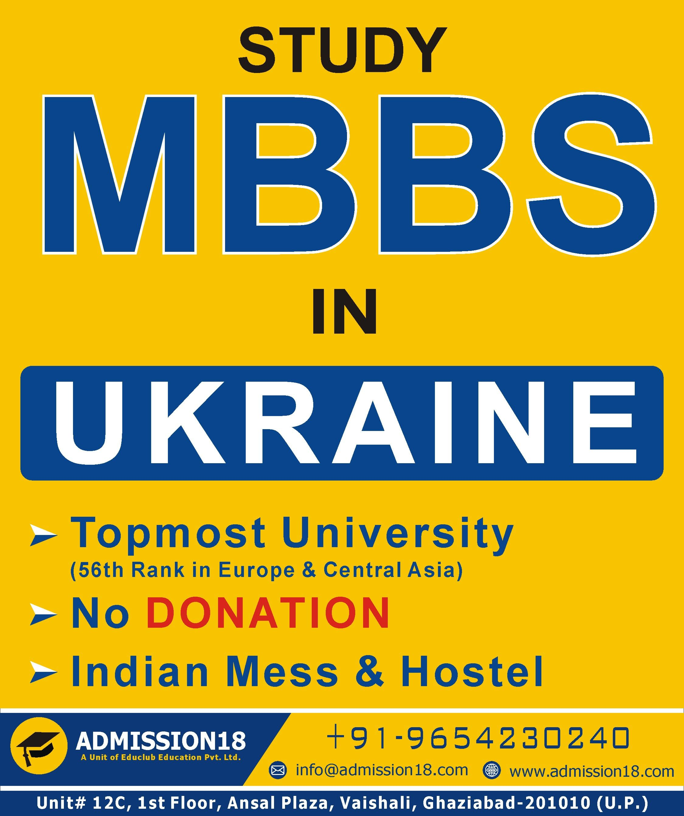 MBBS Study Abroad Indian Cost. Ukraine, Russia