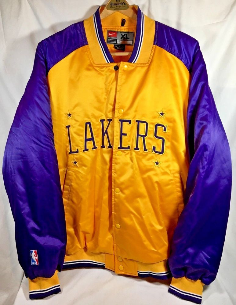 Lakers City Edition Nike NBA Jacke für Herren