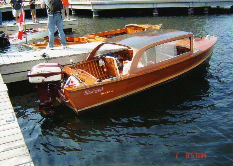 Cedar Strip Cruiser Vintage Boats Wood Boats Old Boats