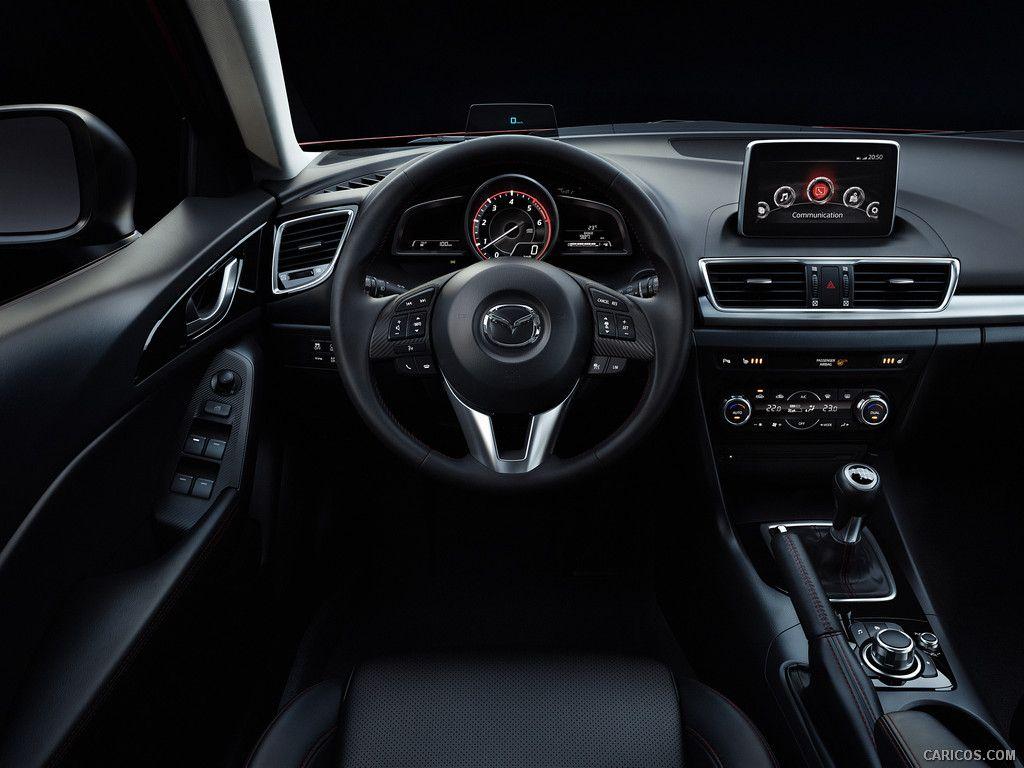 2014 Mazda3 Hatchback Interior 1024x768 126 Of 204 Mazda 3 Sedan Mazda Hatchback