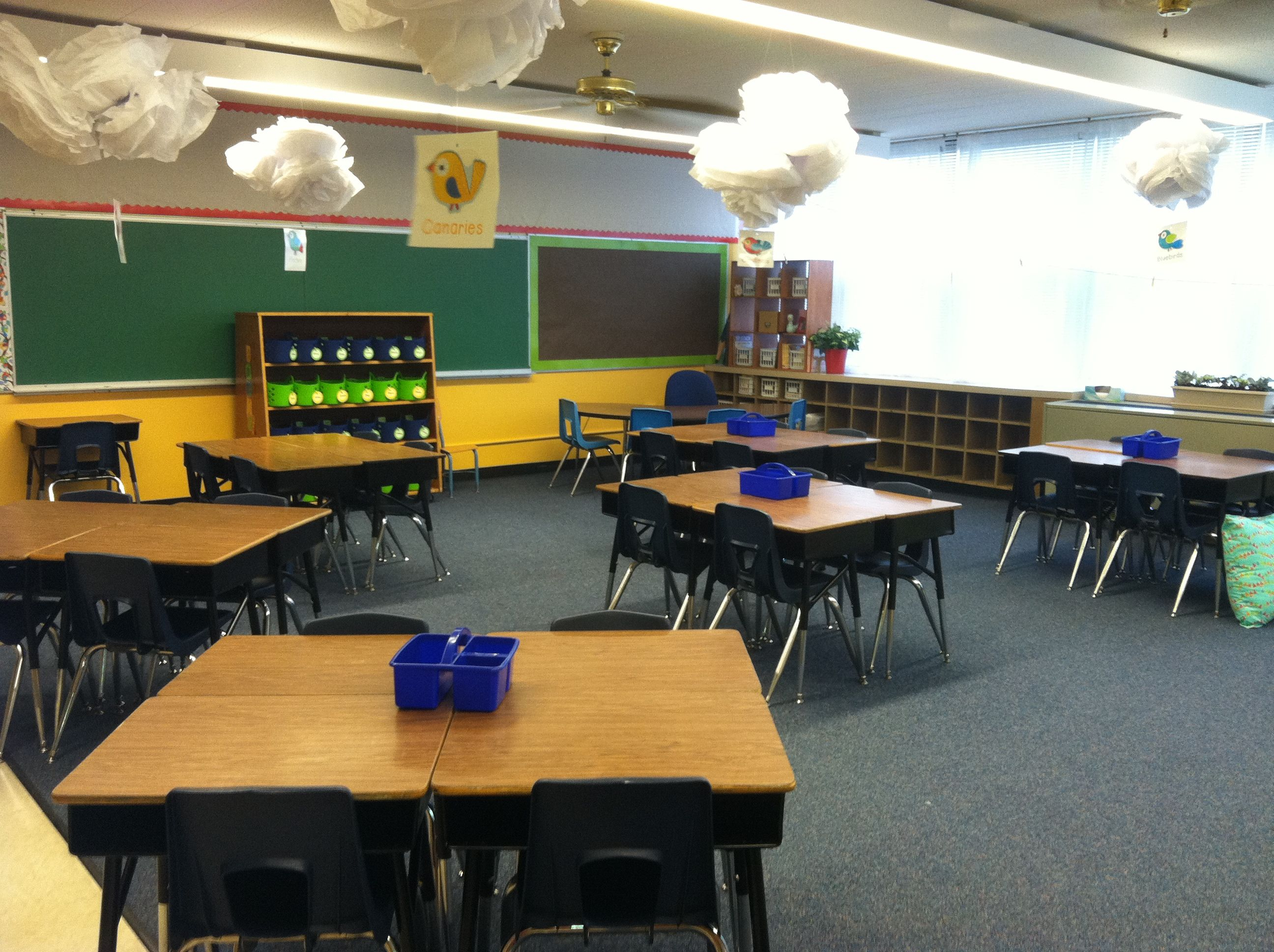 Classroom Design Cooperative Clusters ~ Clusters and clouds i love that my husband refers to the