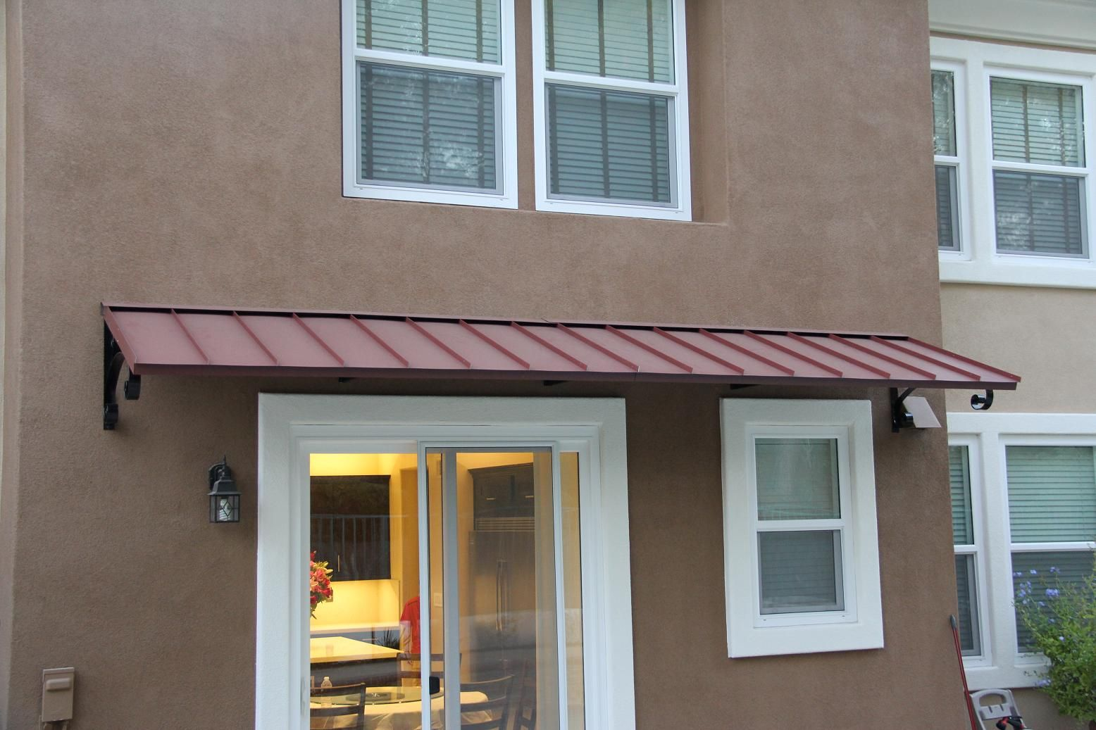 awning metal photo