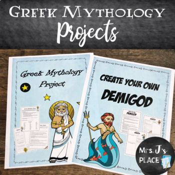 greek mythology projects 2 projects included pinterest