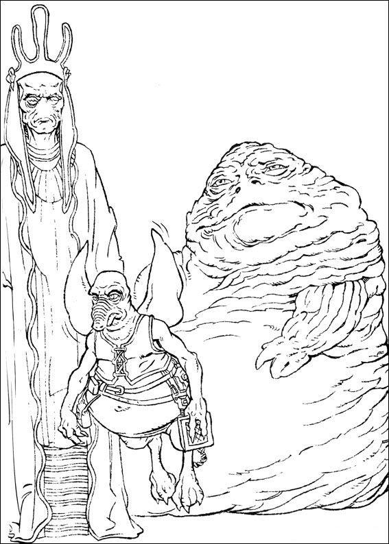 Star Wars 12 Ausmalbilder für Kinder. Malvorlagen zum ...