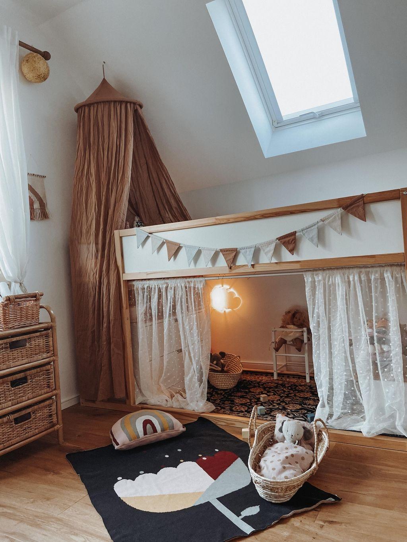 Mädchenzimmer  kinderzimmer  hochbett  kidsroom