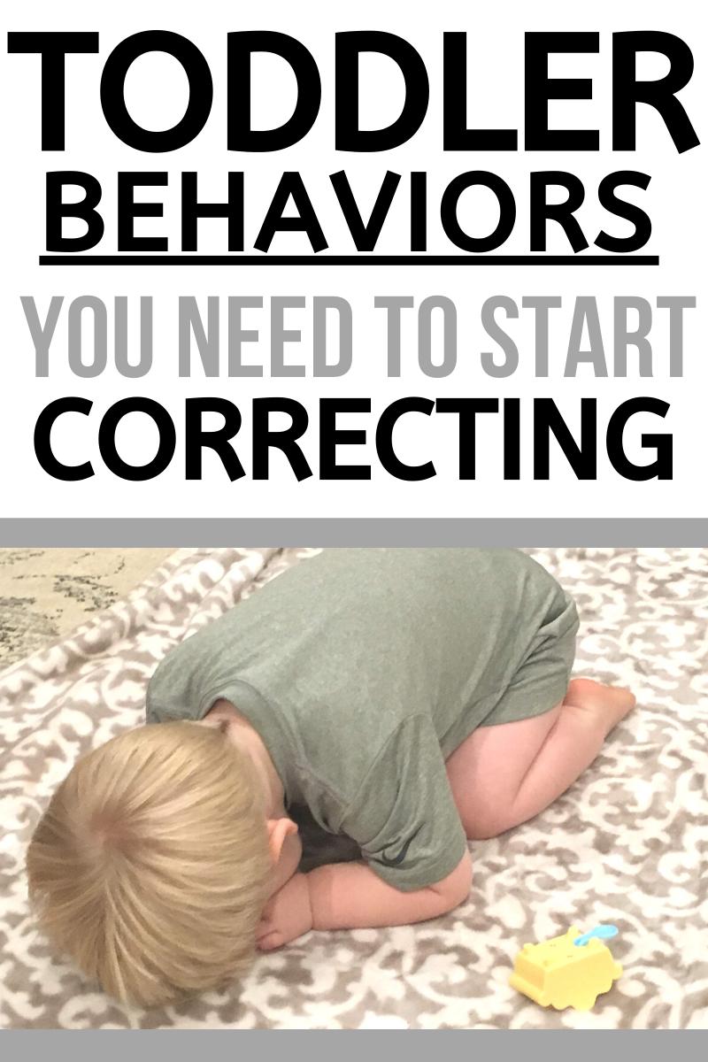 Toddler Discipline: Identifying Behaviors that Nee
