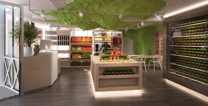 Эко-ресторан by design lab
