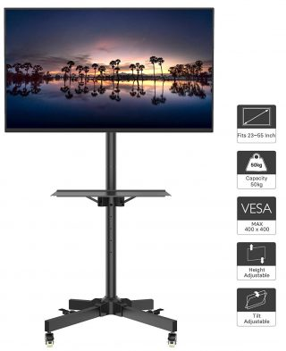 Top 10 Best Portable Tv Stands In 2019 Idsesmedia Portable Tv
