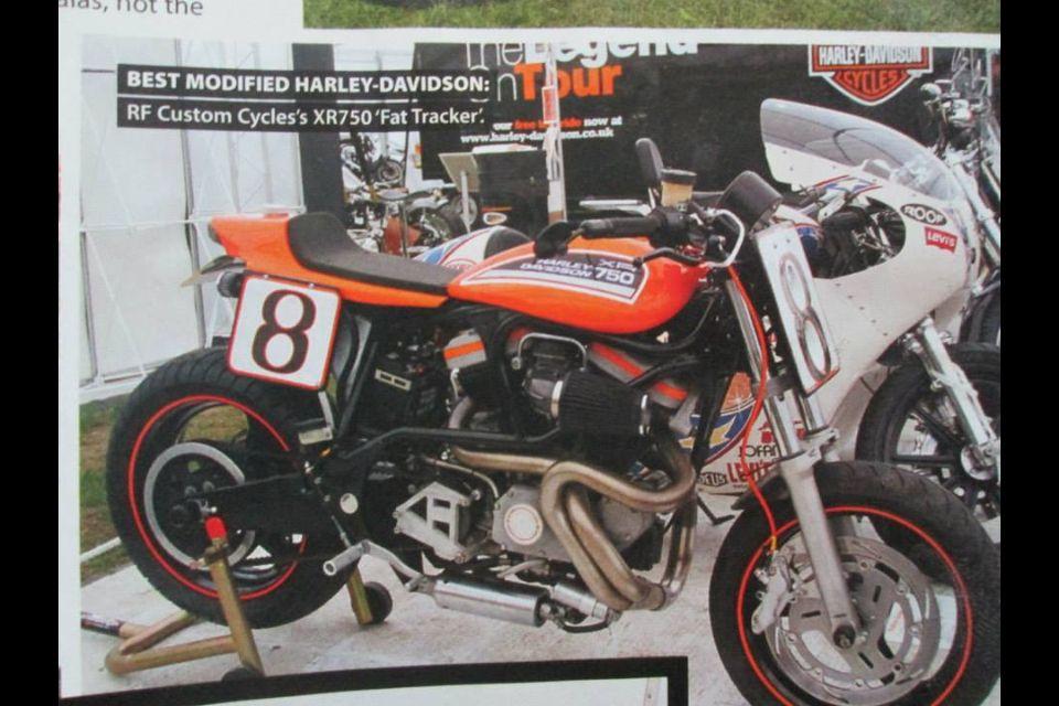 Buell Flat Tracker Custom Motorcycles Custom