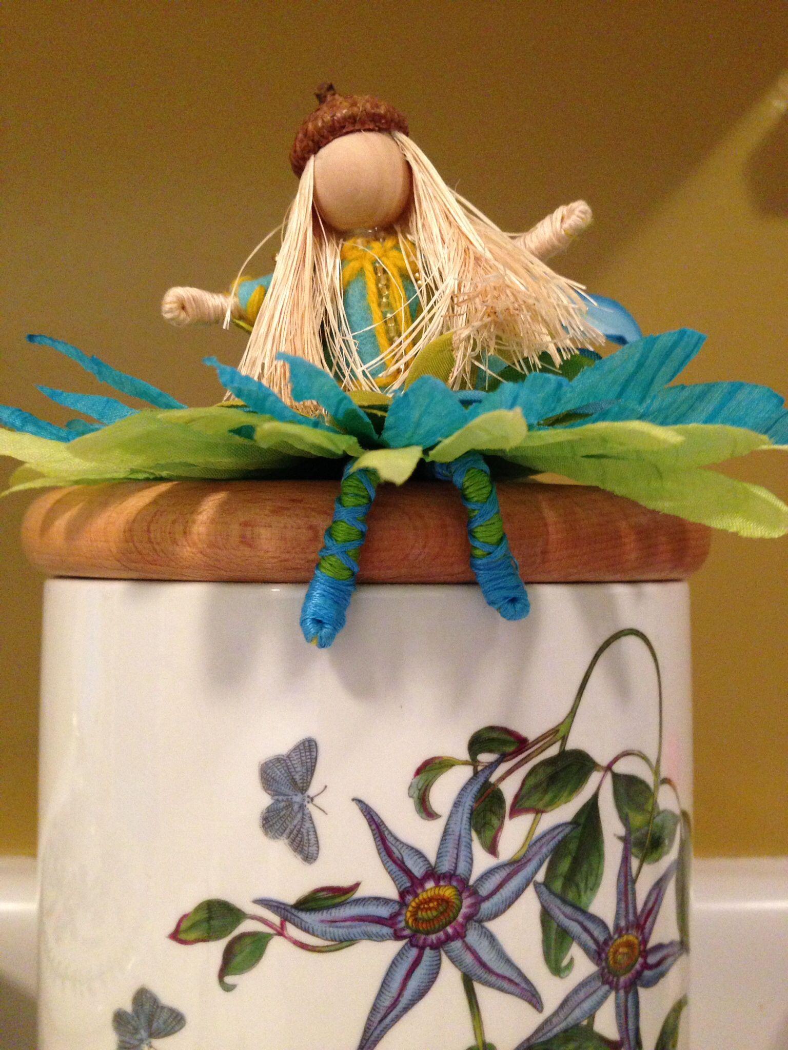 Blue flower Fairy for Yoome