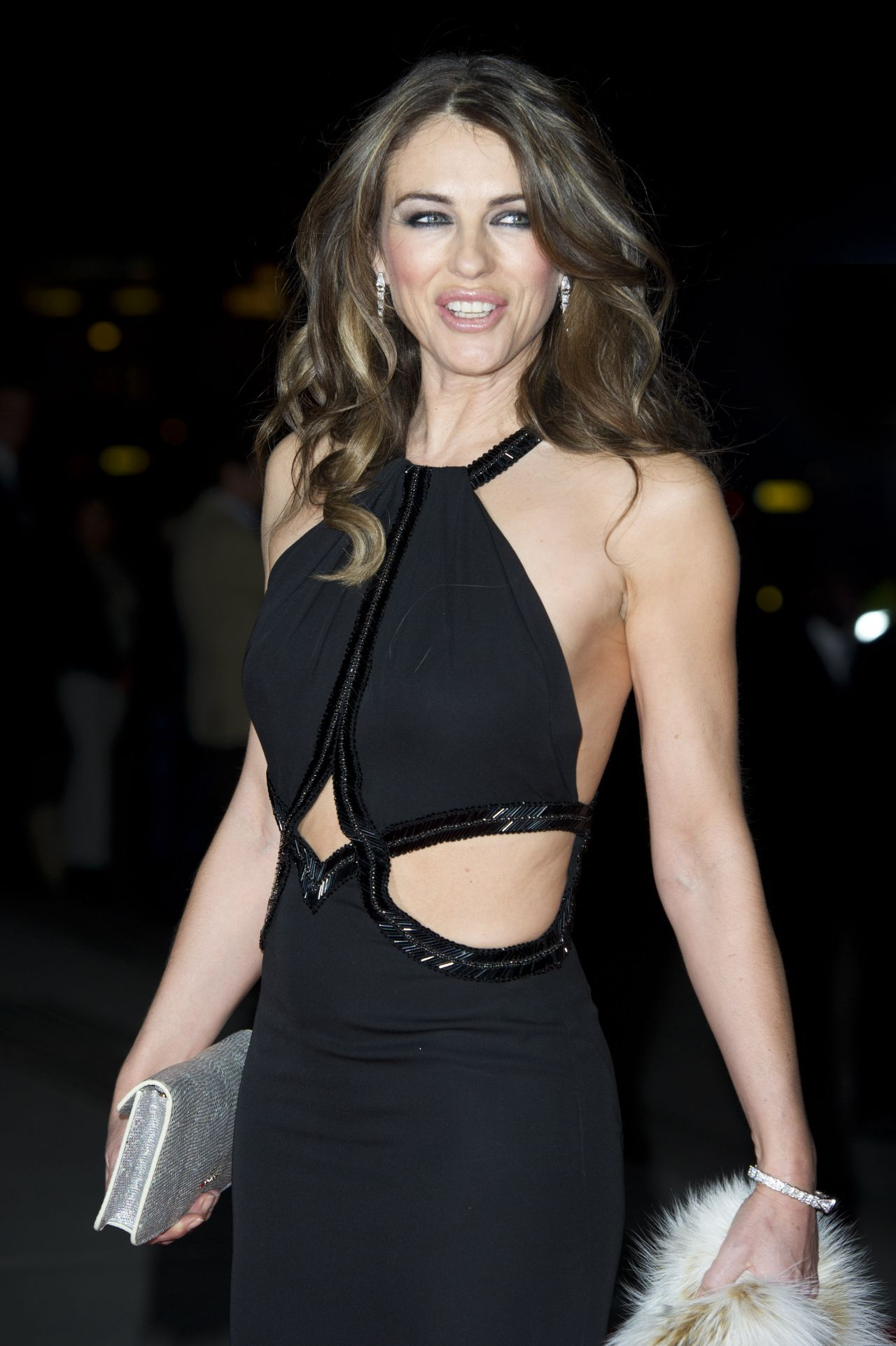 Elizabeth Hurley - The Glamour Of Italian Fashion 1945 - 2015 - Private Dinner in London-1