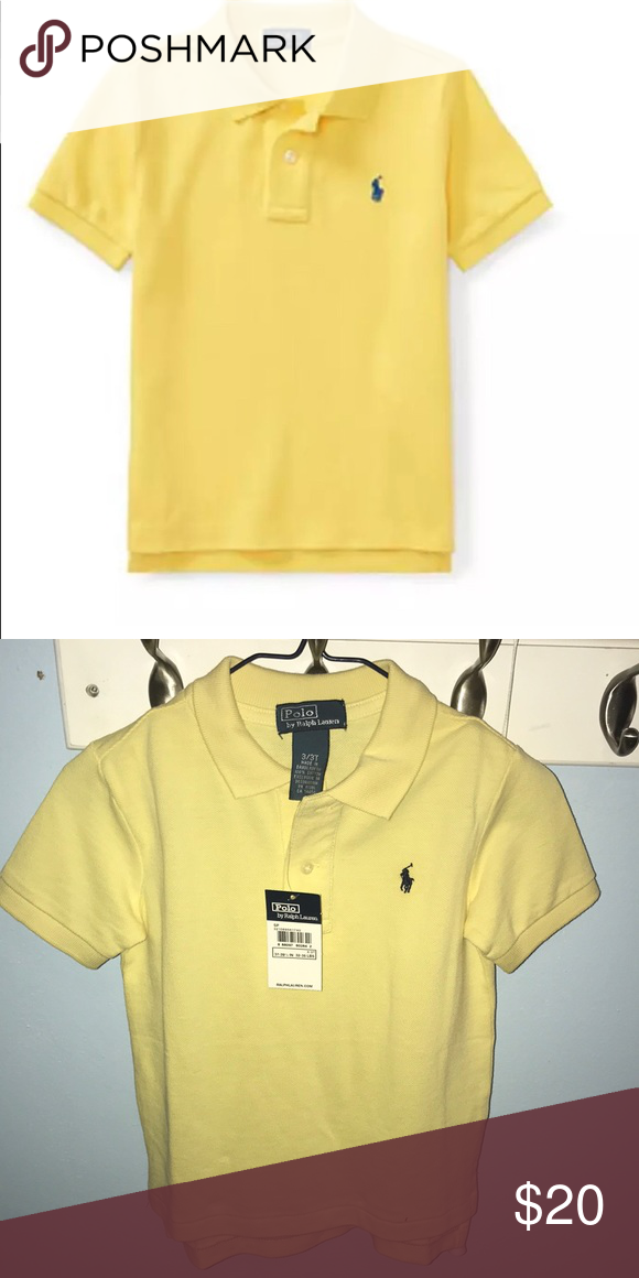 6c86f97c1 NWT Polo Ralph Lauren boys polo shirt NWT classic mesh Polo shirt is a  comfortable choice