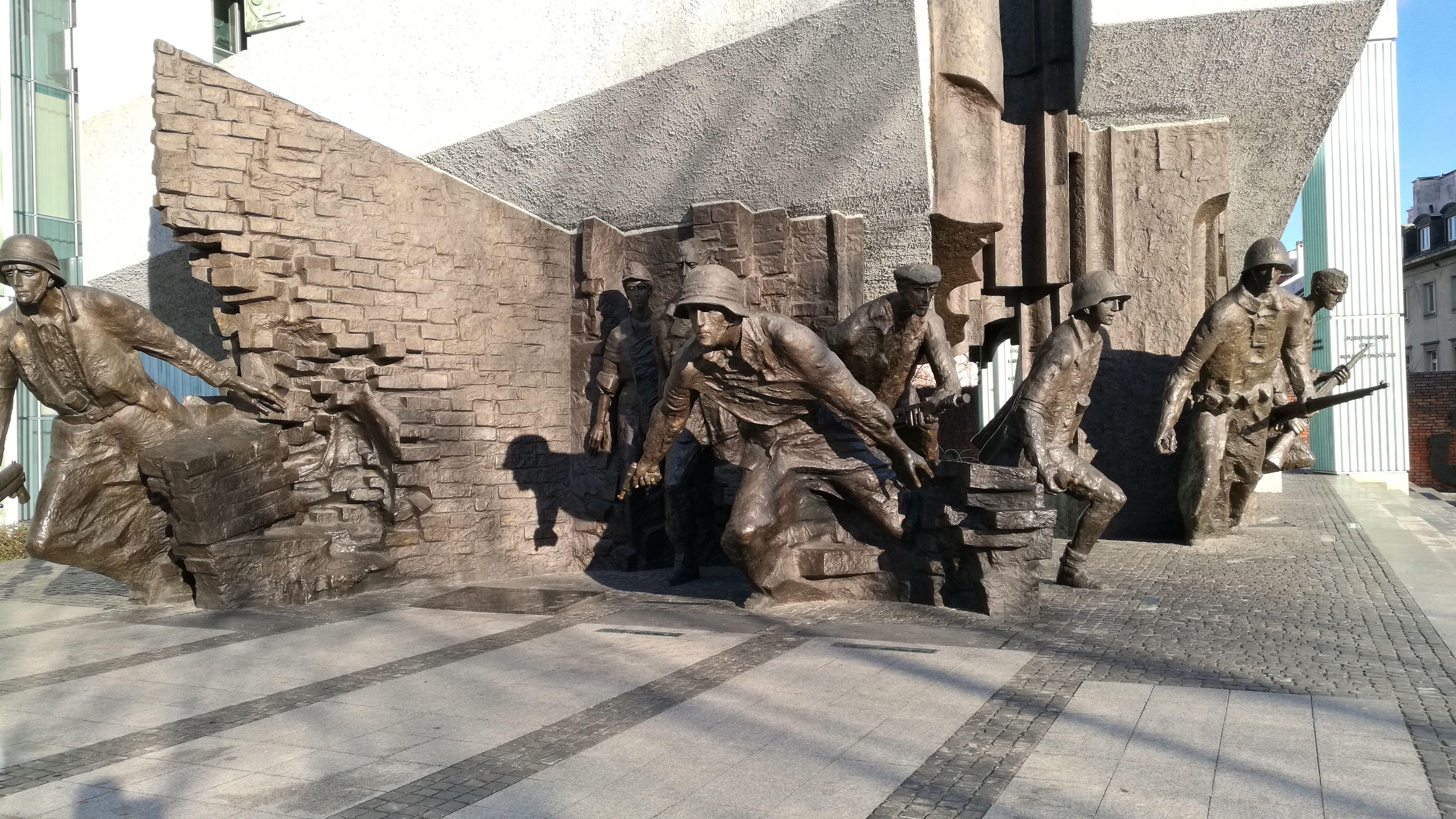 Monumento al levantamiento en el Gueto de Varsovia