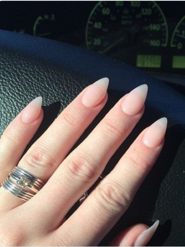 Pin By Ina Melissi On Nail Shapes Pointed Nails Pointy Nails Claw Nails