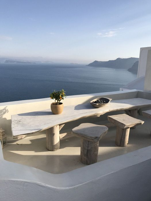 Santorini Patio Furniture: Parisienne: I DON'T WANT US TO BE STRANGERS AGAIN