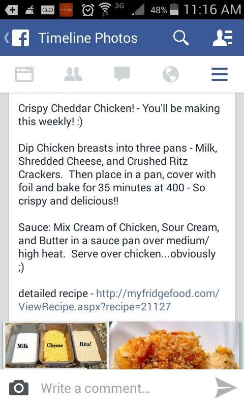 Crispy chicken 3