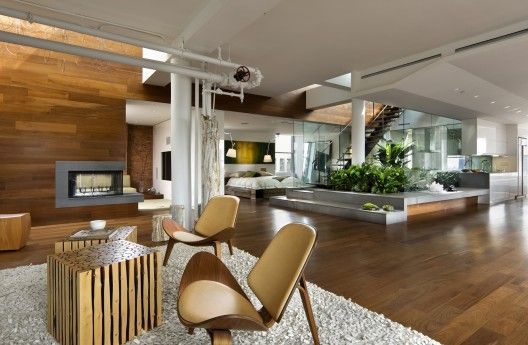 Penthouse Downtown Montréal By Gestion René Desjardins Inc. | Interior  Design | Pinterest | Penthouses