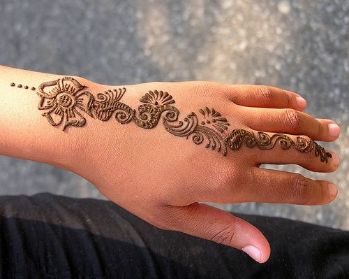 نقش حناء خفيف وحلو Henna One Fingerhenna يباب كوم Henna Tattoo Designs Hand Henna Simple Henna Tattoo