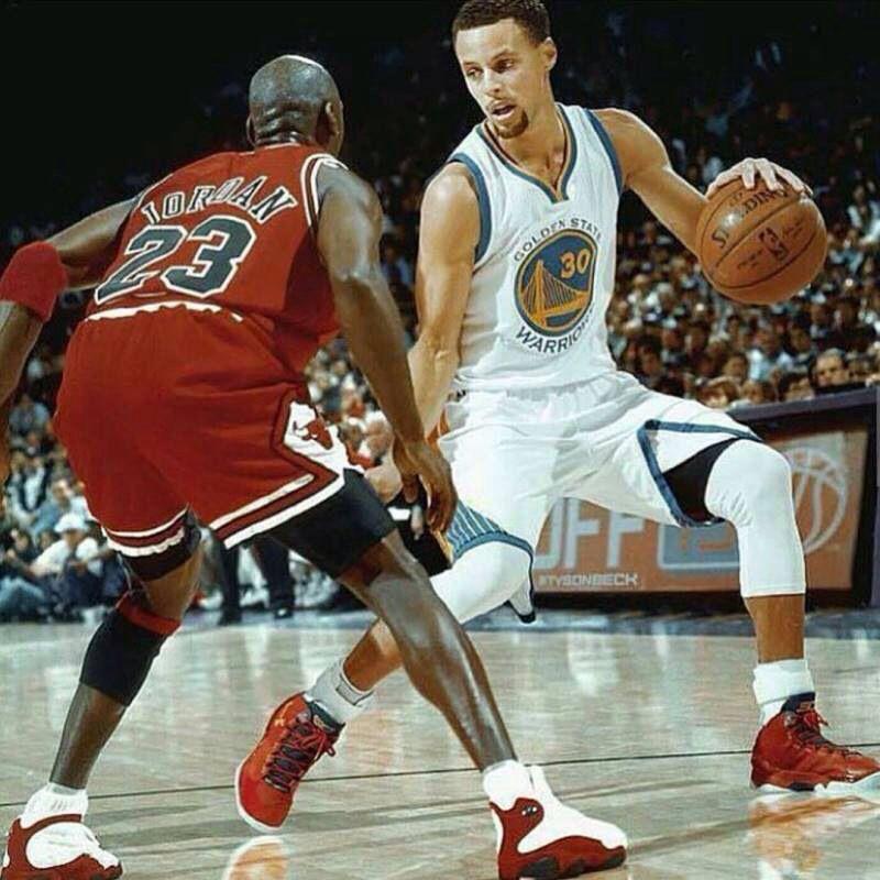 將Curry放在90年代打球,充其量就是個後補?喬丹的經歷告訴你答案!-黑特籃球-NBA新聞影音圖片分享社區