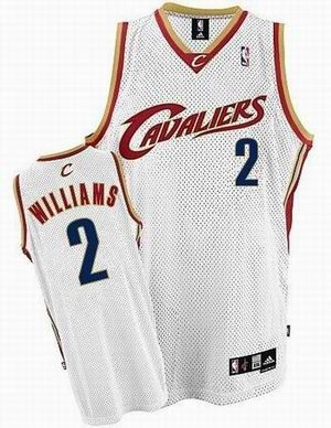 8baf71e1398 Cleveland Cavaliers #2 Mo Williams Swingman Home Jersey white 19.5 ...
