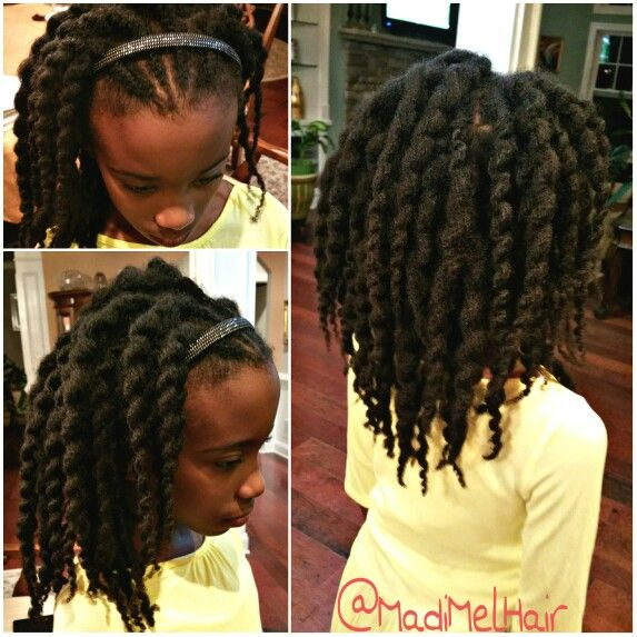 Twist Out On Stretched Natura Hair Not Super Defined Loose Twist