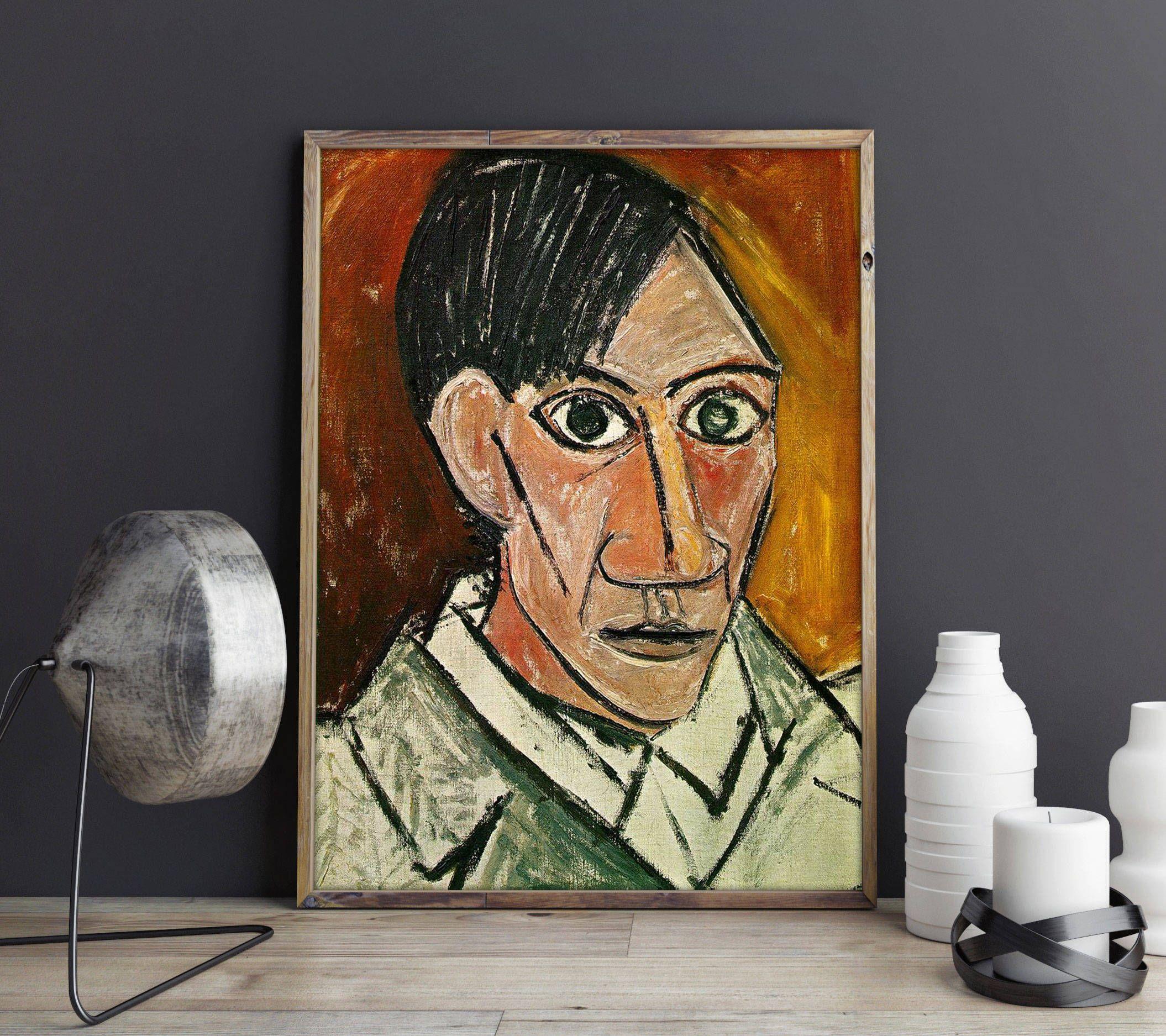 Picasso Painting Picasso Self Portrait 1907 Pablo Picasso ...