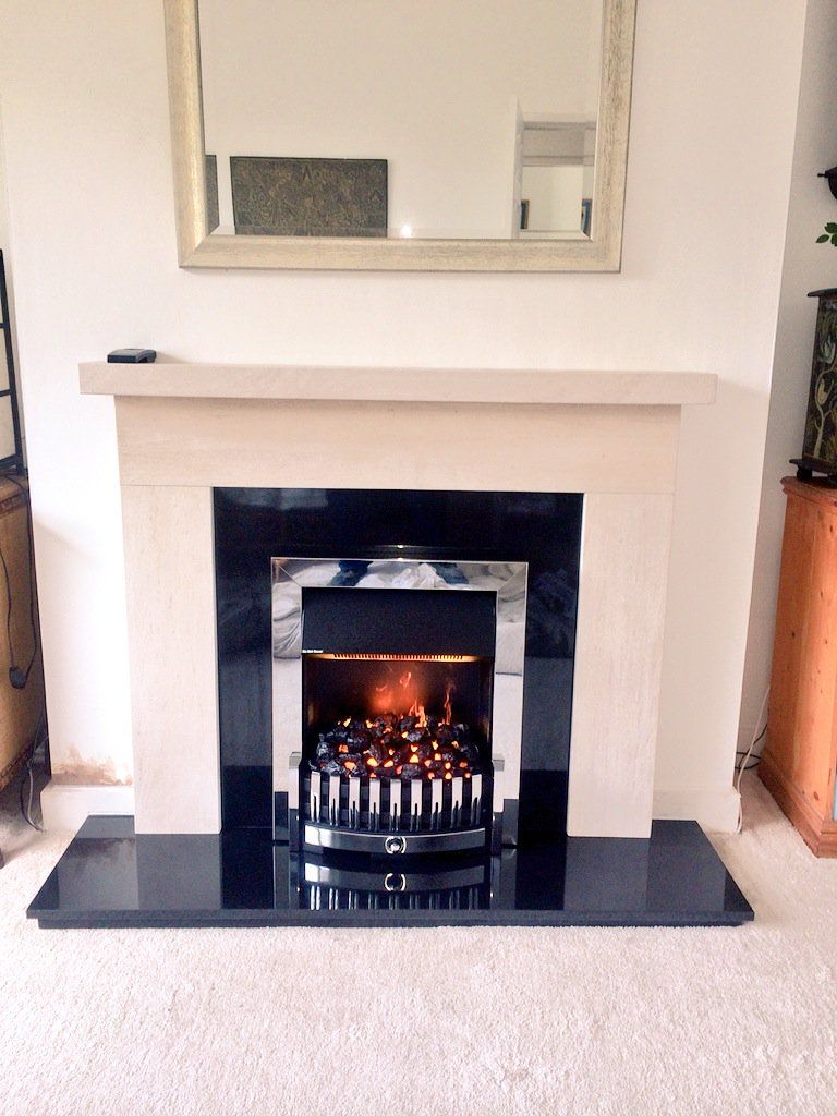 fireplace your name gas home brand install in installing a