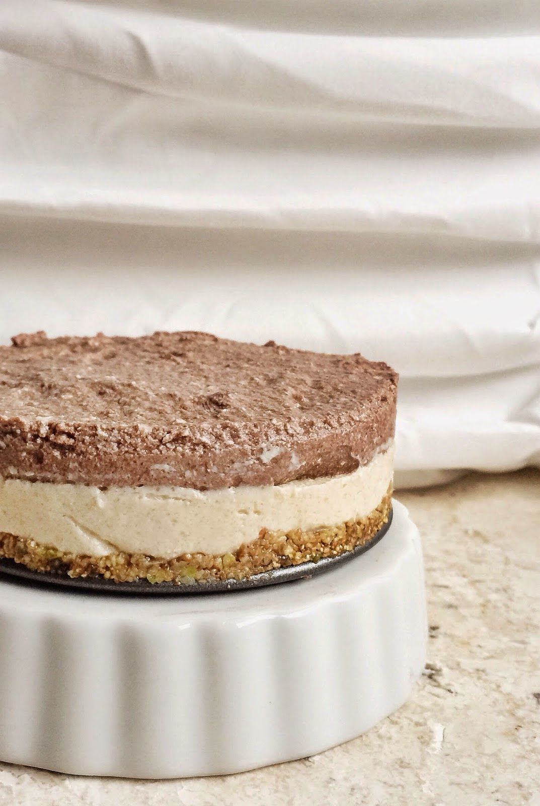 Casey's Wholesome Kitchen: No Bake Chocolate Peanut Butter Mousse Pie