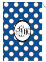 Monogrammed Laundry Bags - available in many school colors!!