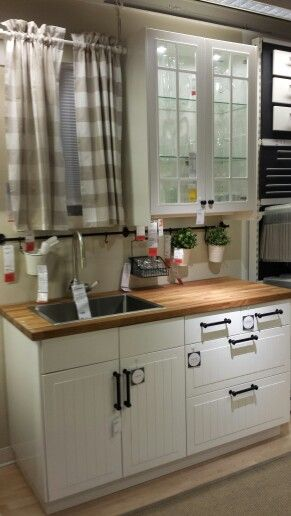 Ikea Akurum Stat Applad White Kitchen Studio Kitchen Kitchen Interior Minimalist Bedroom Design