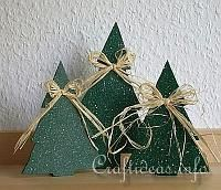 Christmas Wood Craft   Wooden Christmas Trees Set