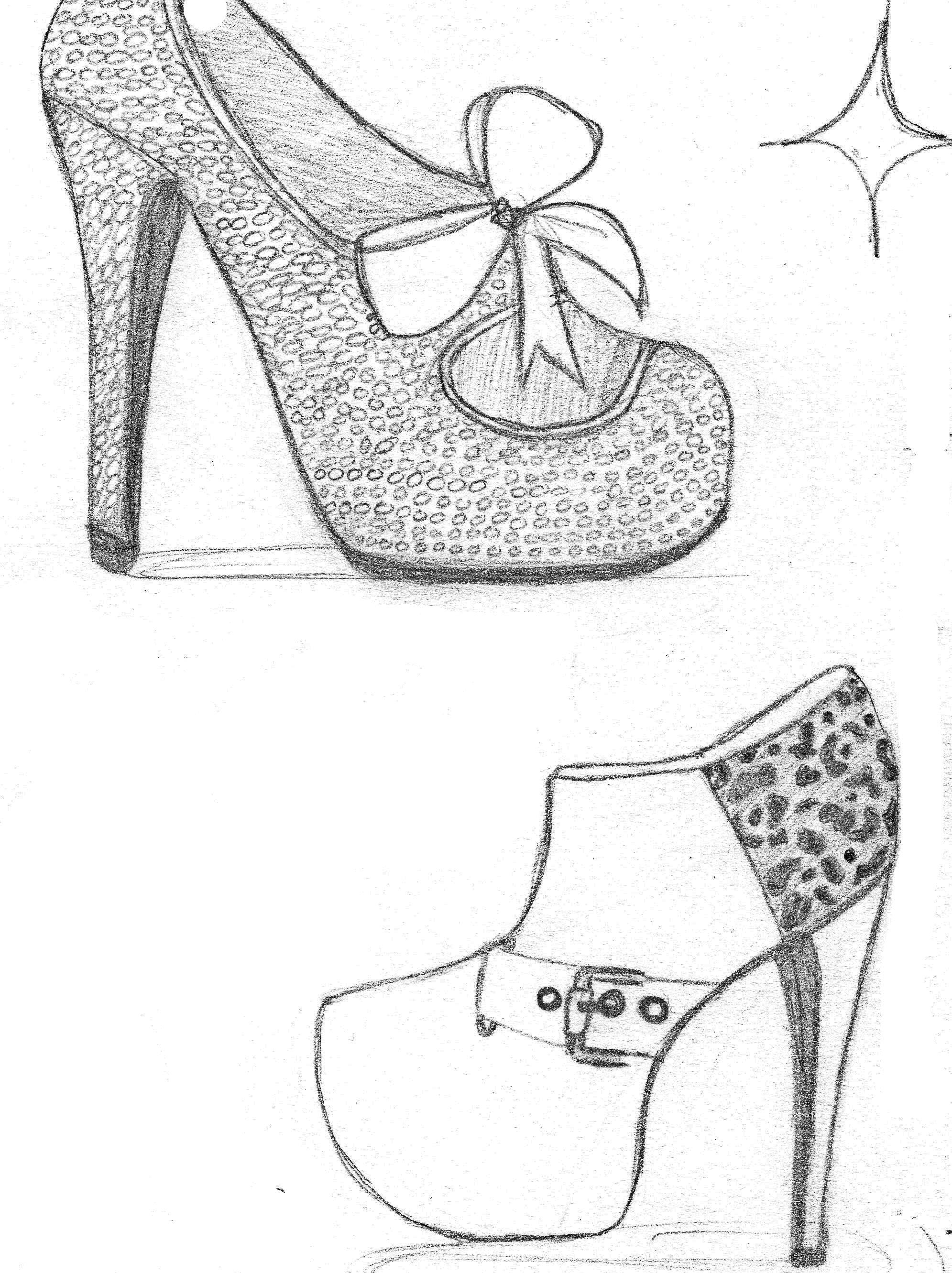 how to draw heels Google Search Heels, Shoe design