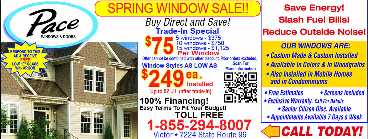Save Your Home S Energy By Replacing Windows With Pace And Doors In Rochester