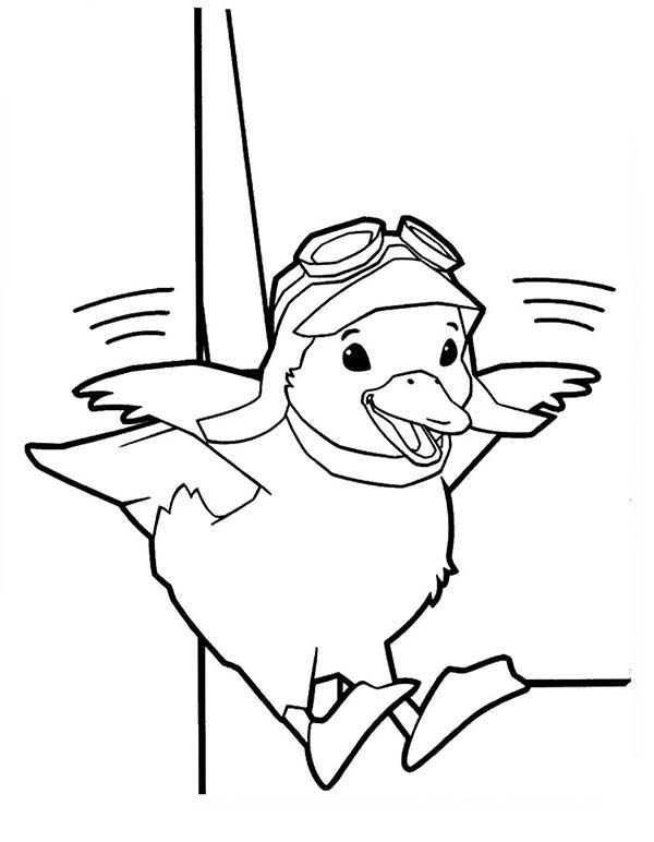 Ming Ming The Duckling Learn To Fly In Wonder Pets Coloring Page Coloring Sun Wonder Pets Coloring Pages Learn To Fly