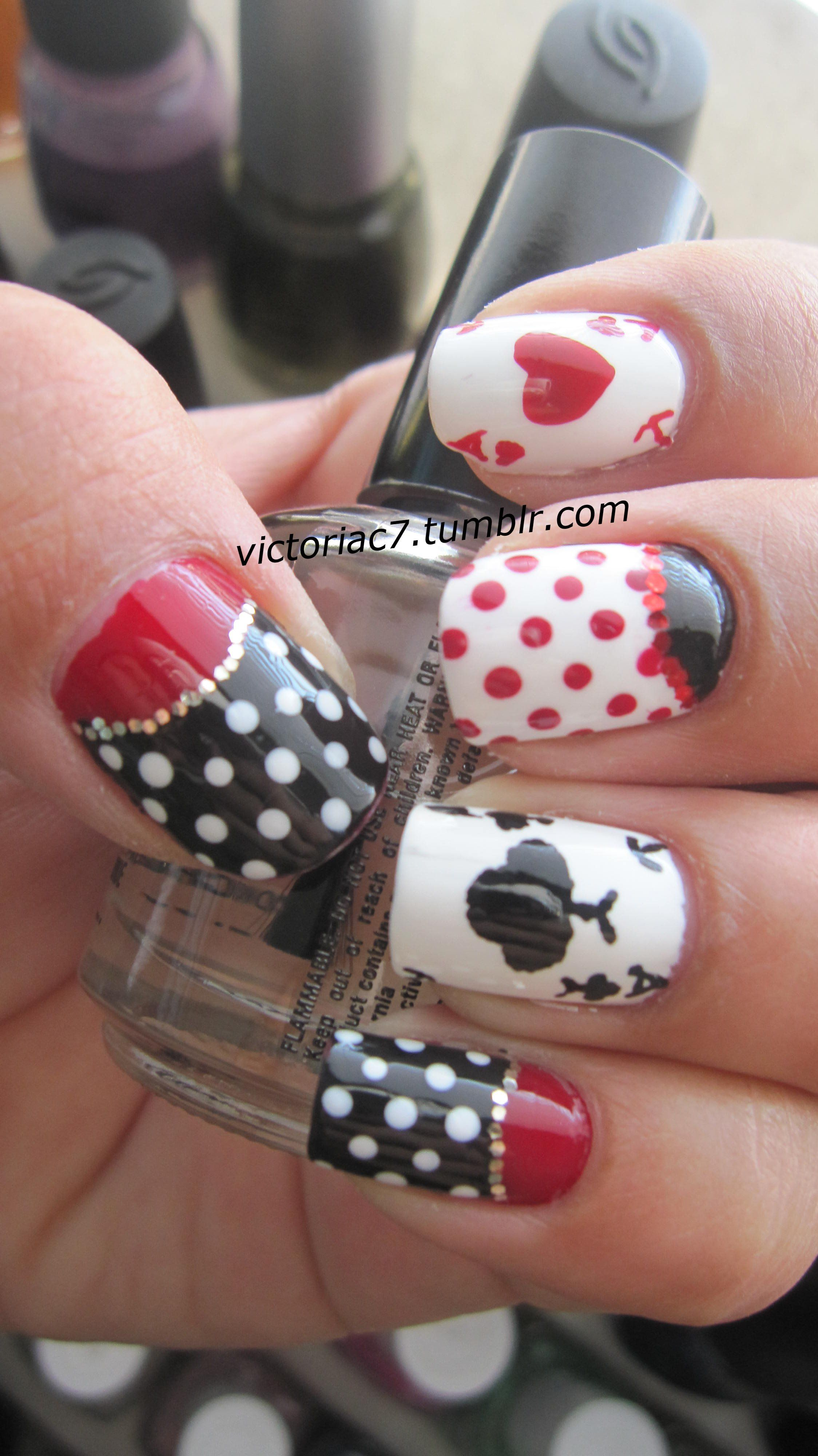 I want these nails for Vegas! | Beauty | Pinterest | Vegas, Pedi and ...