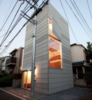 Of all the Tiny houses around the World Japan  has the most creative designs!   http://www.tinyhousewebsites.com