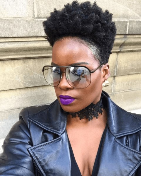 4c Hair Tapered Cut : tapered, Natural, Styles