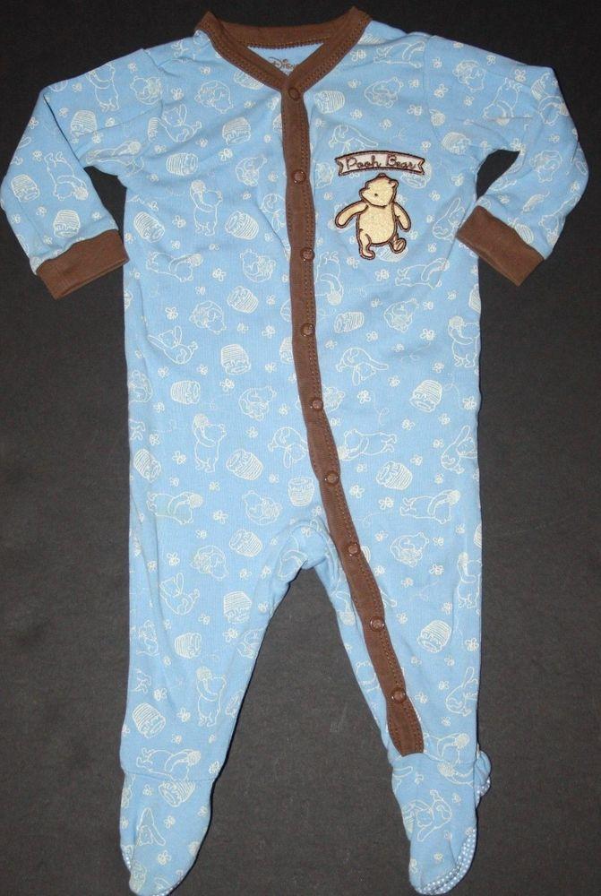 Disney Winnie The Pooh Infant Footed Pajamas  #Disney #OnePiece #Pooh #Winniethe pooh #Clothes #Infant #Pooh #Disney