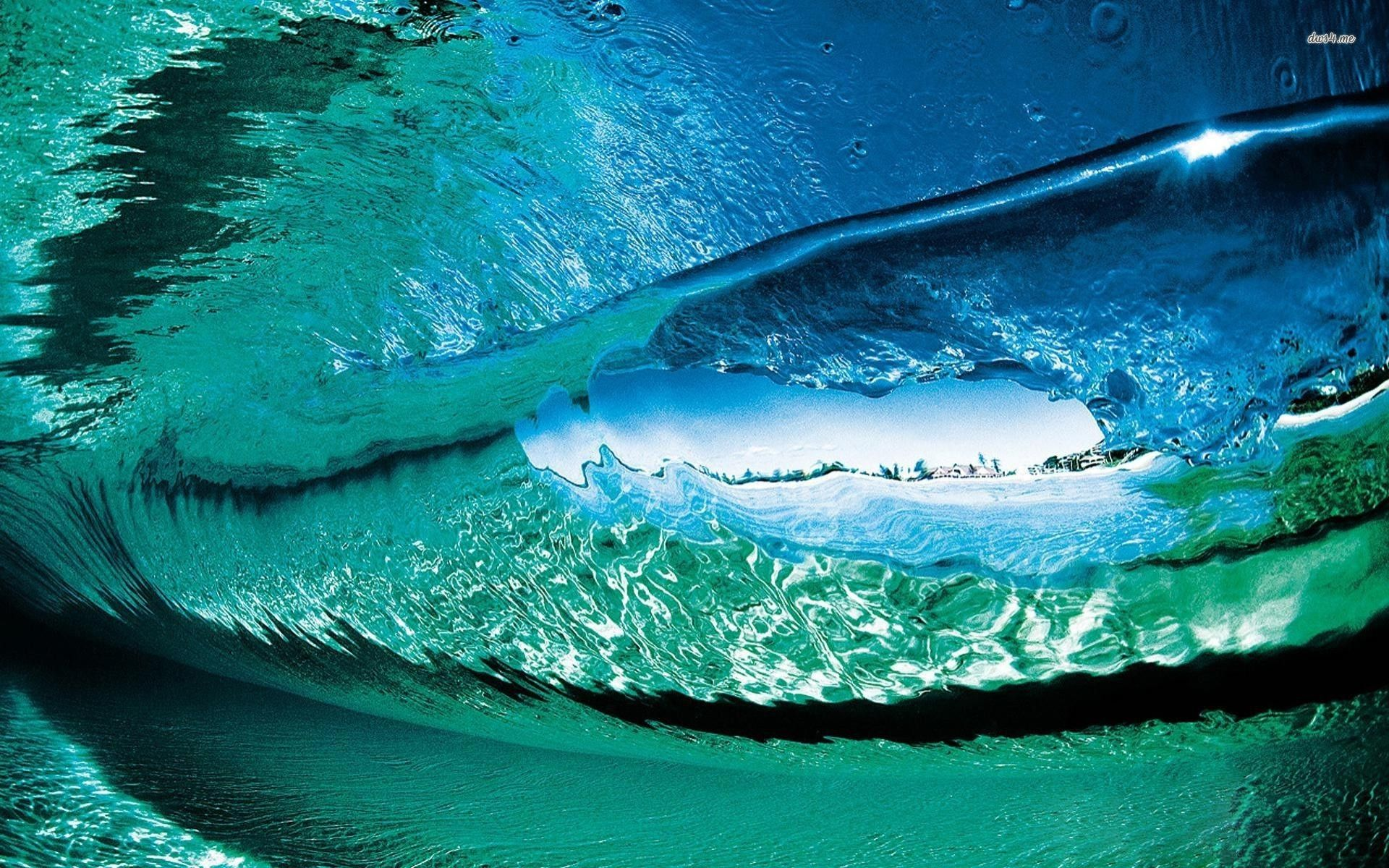 Ocean Waves Wallpaper Full HD cMA