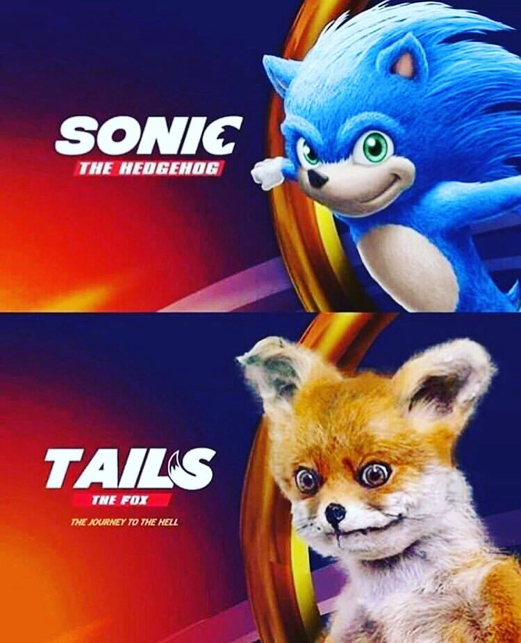 Tails From Sonc The Hedgehog Movie Meme Sonic Funny Funny Memes Memes