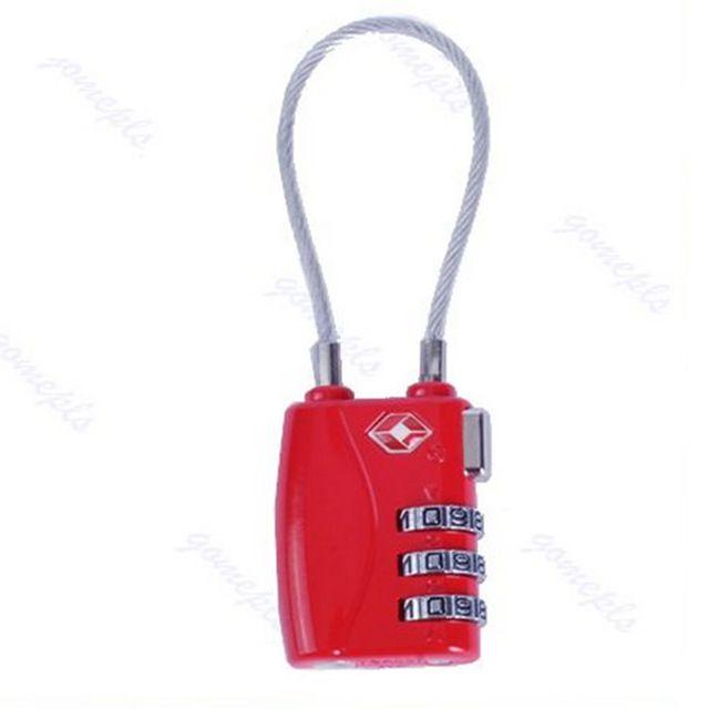 Password Lock Tsa Approved Resettable 3 Digit Combination Travel Luggage Locks Padlock 4 Allows Airpor Suitcase Lock Travel Luggage Suitcases Travel Luggage