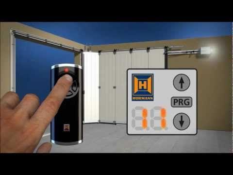 Hormann Vido Dinstallation De Porte De Garage Latrale Youtube