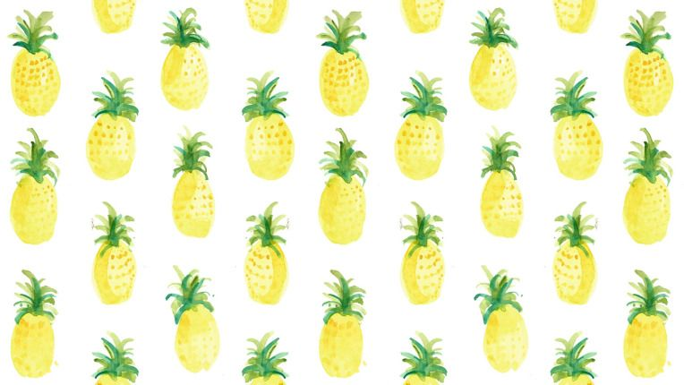 Fruit Salad Cute Laptop Wallpaper Laptop Wallpaper Pineapple