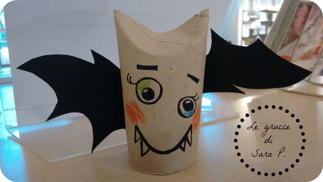 Pipistrello Con Un Rotolo Di Carta Igienica Creazioni Per