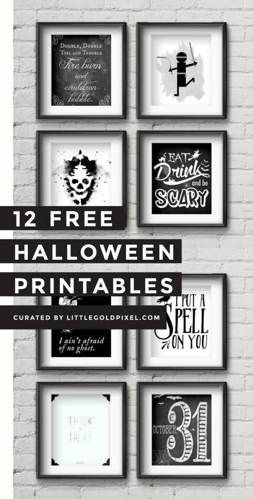 12 Free Halloween Poster Printables Halloween printable and - halloween poster ideas