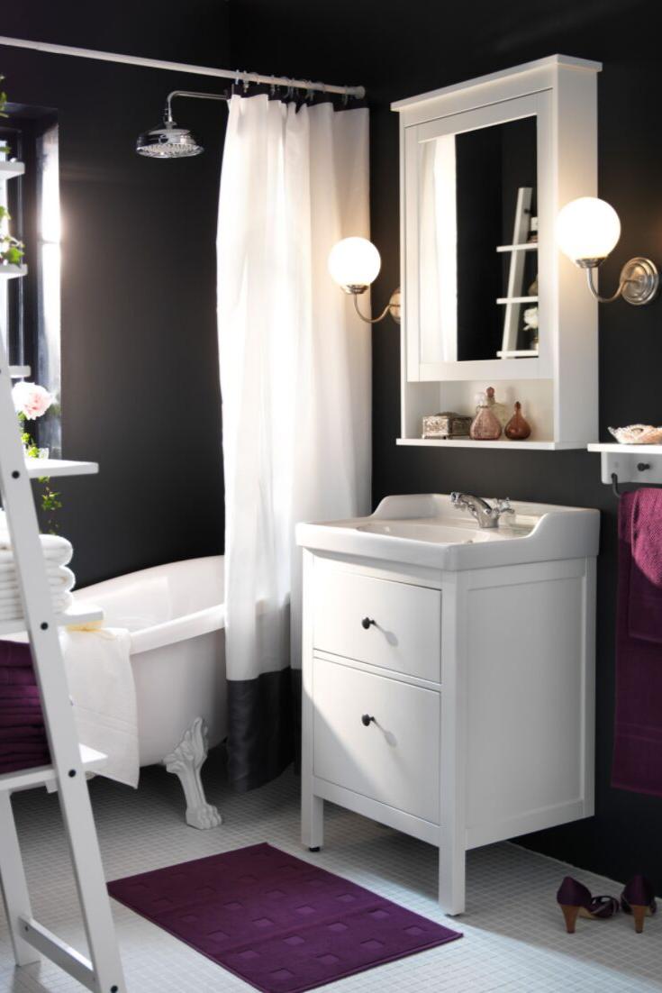 Pin Von Kuchenfinder Auf Bathroom Bad Einrichten Ikea Bad Badezimmer