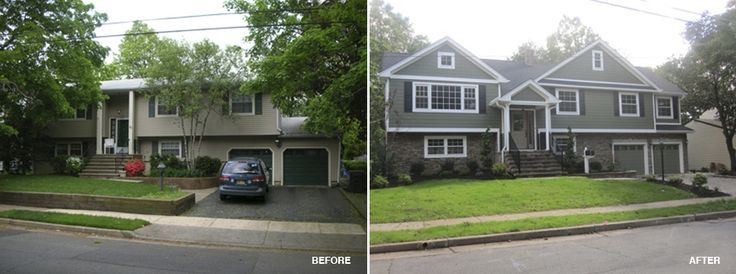 Bi Level Exterior Remodeling Bing Images House Ideas